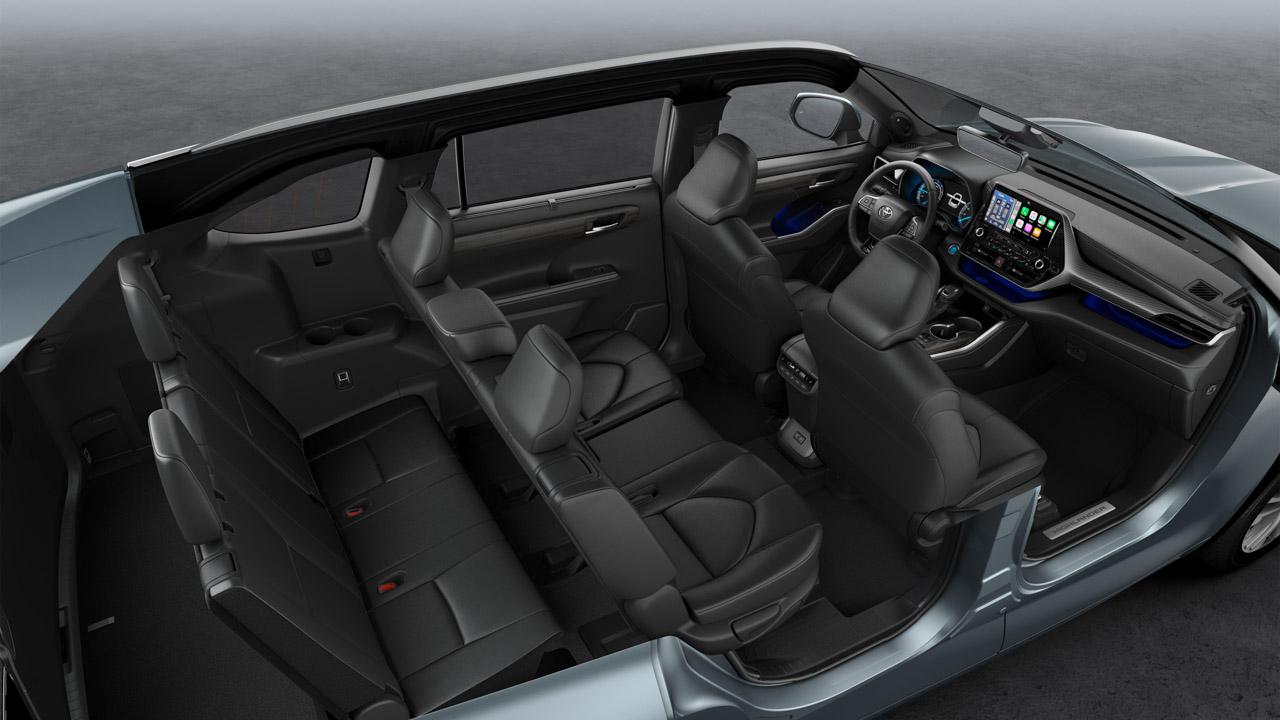 Toyota Highlander Hybrid, a la venta en España en 2021