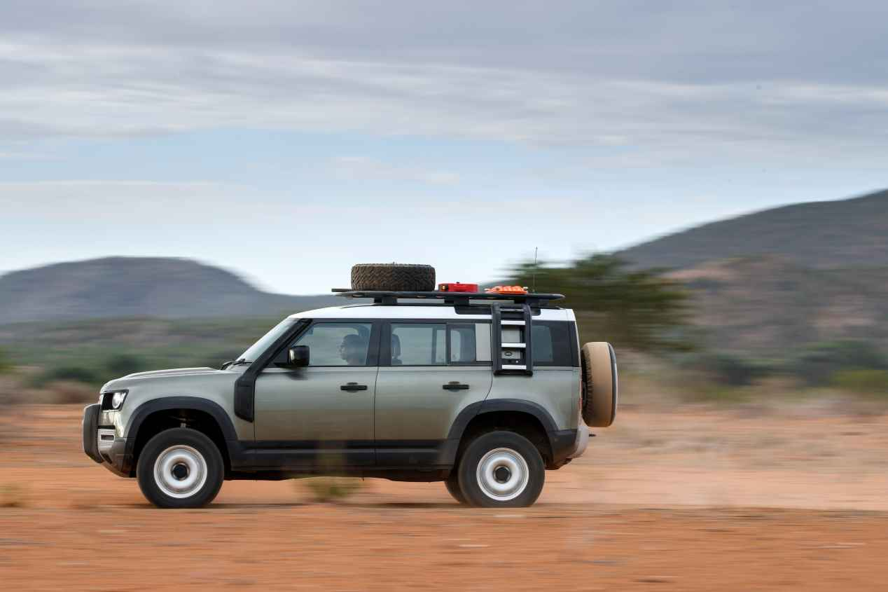 Recorremos Namibia con el nuevo Land Rover Defender