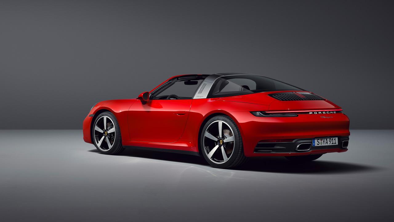 Porsche 911 Targa: llega la tercera variante de carrocería del 911