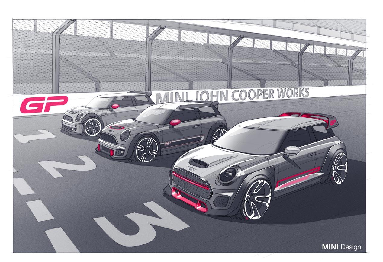 Mini John Cooper Works GP, tres generaciones de leyenda