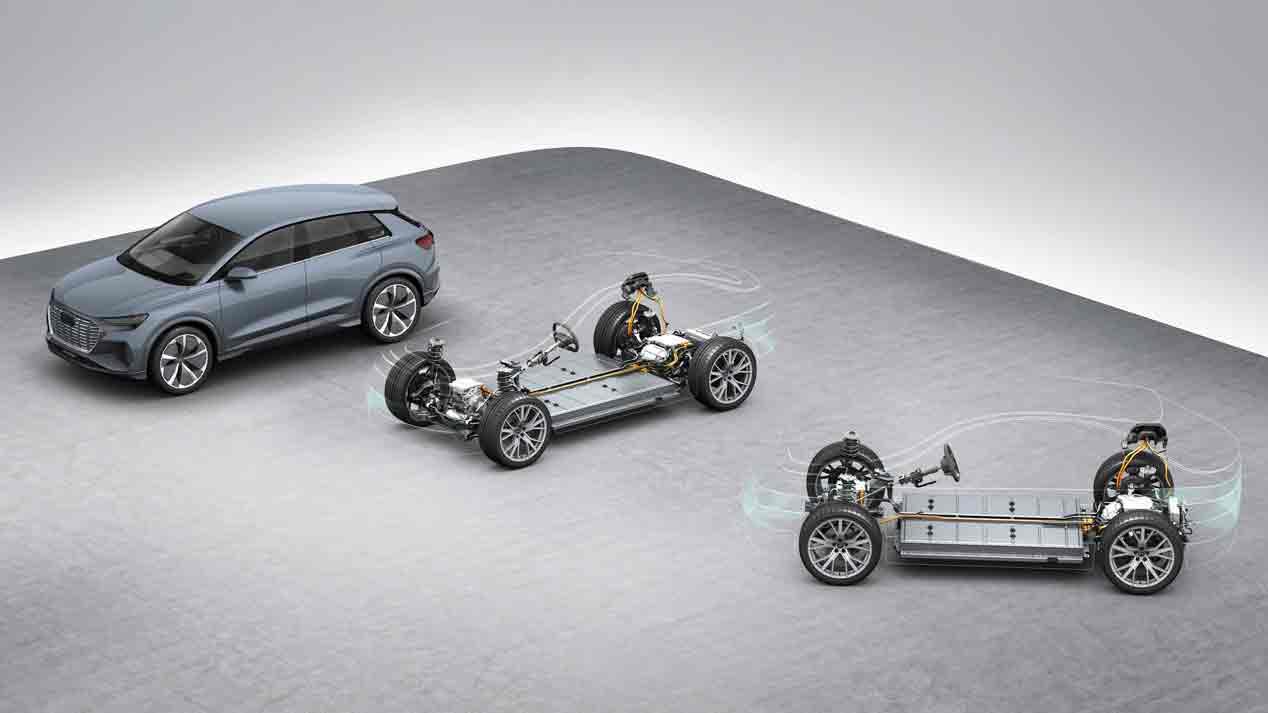 Ford venderá un nuevo coche eléctrico en Europa con la plataforma MEB de Volkswagen