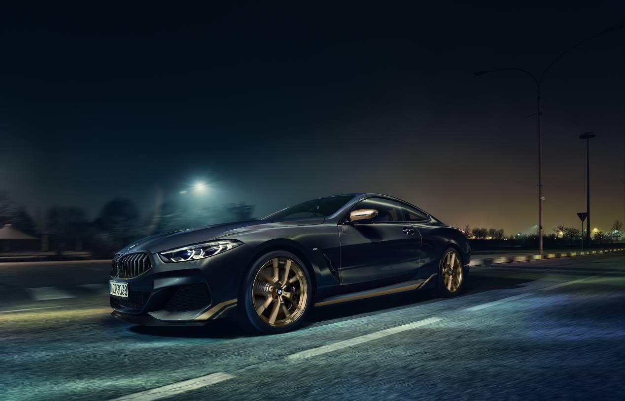 El BMW Serie 8 Golden Thunder Edition, en imágenes