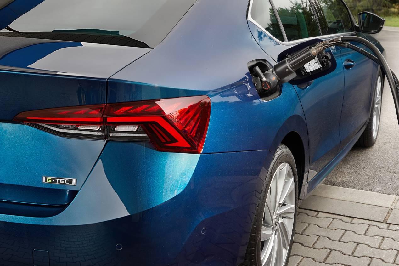 Skoda Octavia G-Tec 2020: la nueva berlina de gas, en imágenes