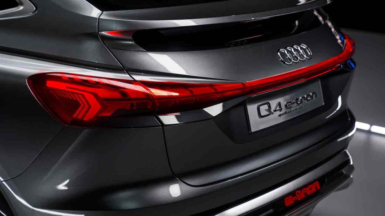 Audi Q4 e-tron Sportback: un SUV coupé eléctrico, el siguiente paso en la expansión Audi
