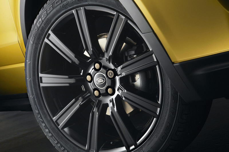 Range Rover Evoque 'Sicilian Yellow'