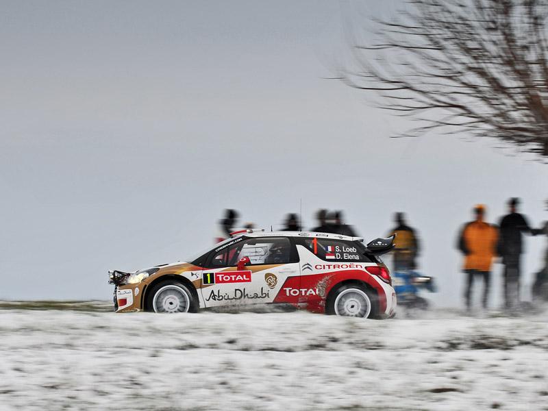 Rallye de Montecarlo 2013 1ª etapa