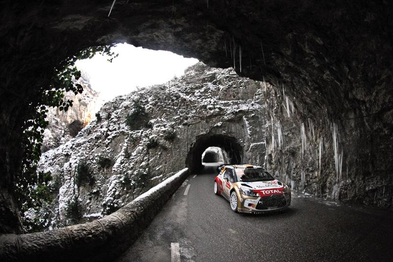 Rallye de Montecarlo 2013 3ª etapa