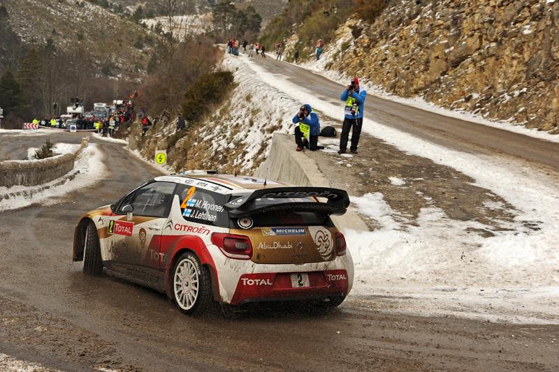 Rallye de Montecarlo 2013 4ª etapa