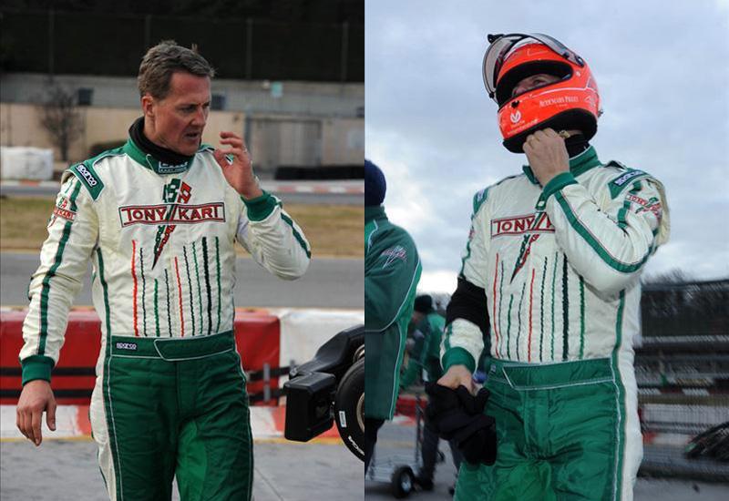 Michael Schumacher correrá en karts