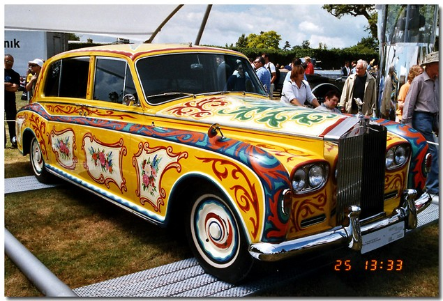 Los coches que usaban los Beatles