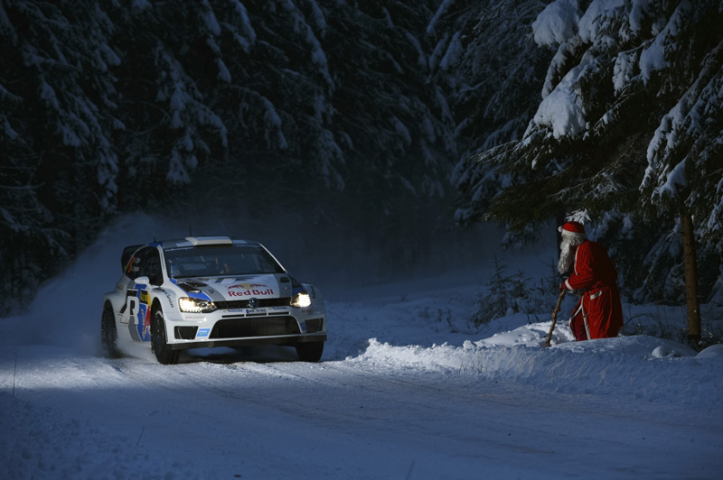 Rallye de Suecia 2013 jueves