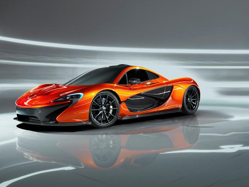 McLaren P1 habitáculo