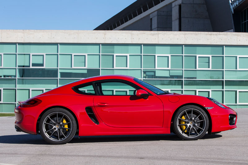 Porsche Cayman S, la sombra del 911