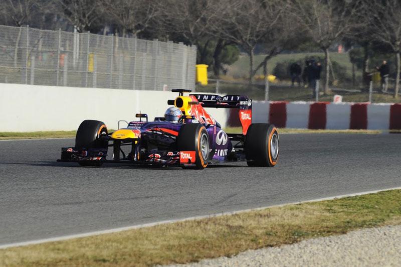 Pretemporada F1 2013: Montmeló, día 1