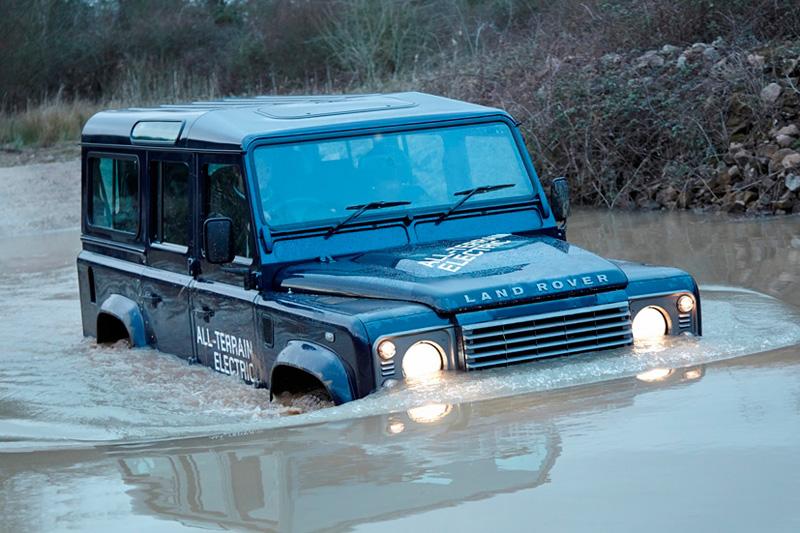 Nuevo Land Rover Defender eléctrico