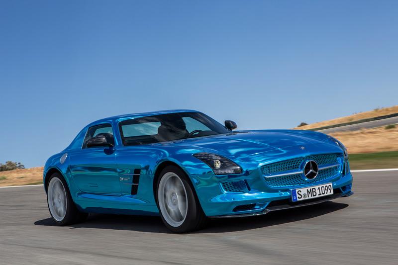 Nuevo Mercedes SLS AMG Coupé Electric