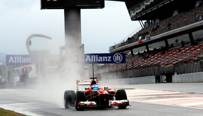F1: Últimos entrenamientos de pretemporada