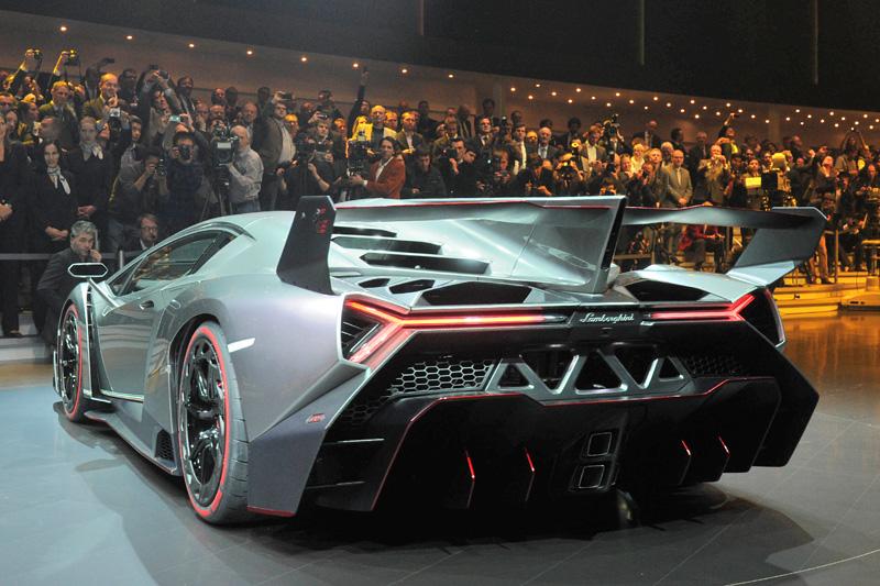 Lamborghini Veneno, un toro de 750 CV