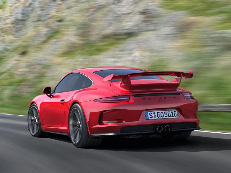 Porsche 911 GT3 en el Salón de Ginebra 2013