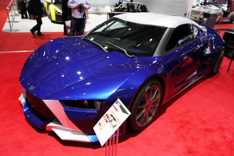 Sbarro Réact'EV, brutal deportivo híbrido