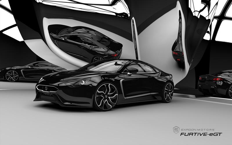 Exagon Furtive-eGT, el deportivo eléctrico francés