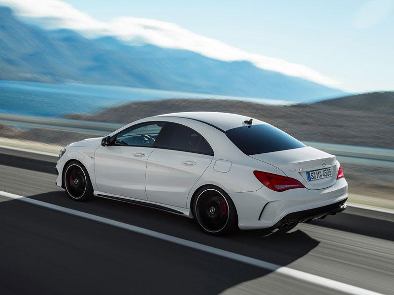 Mercedes CLA 45 AMG, filtradas las primeras imágenes