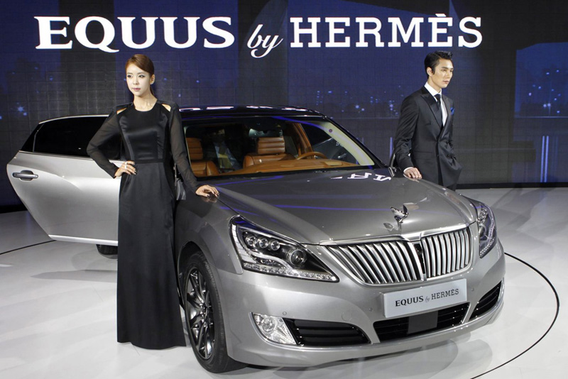 Hyundai Equus by Hermès, lujo exótico