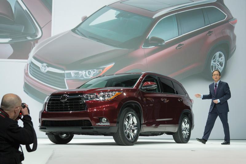 Toyota Highlander 2014, ahora más refinado