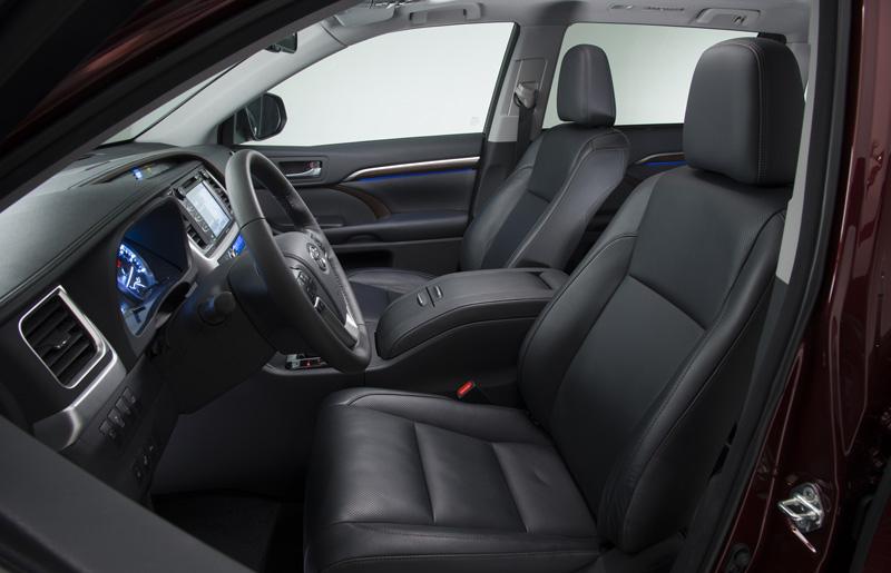 Interior Toyota Highlander 2014