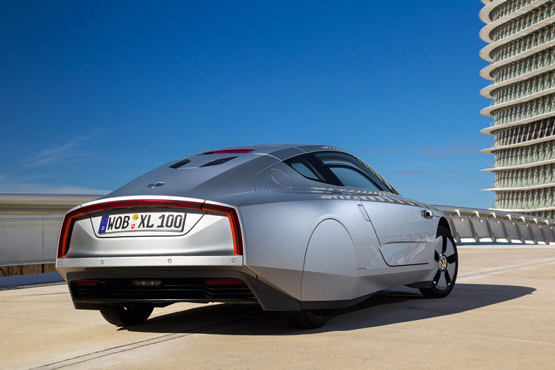 Volkswagen XL1, el coche con alma