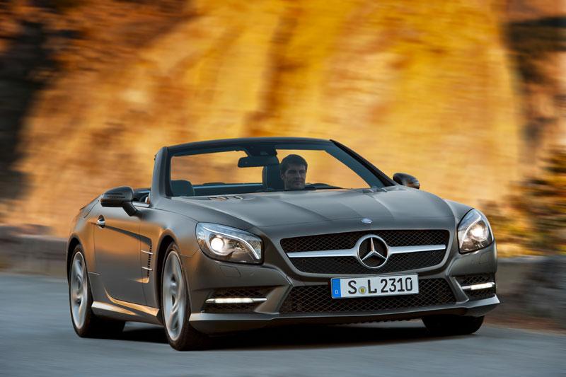 Mercedes SL y SLK 2013