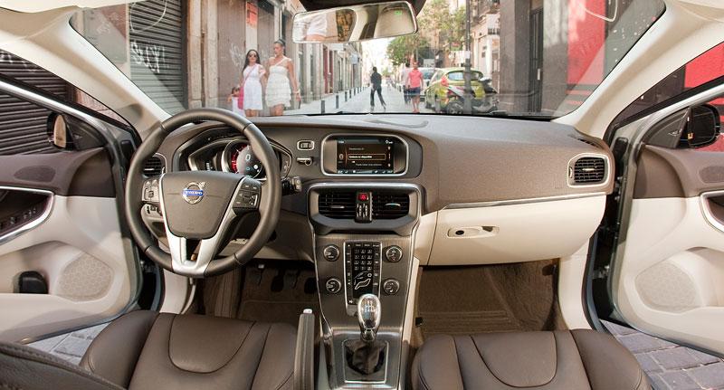 Prueba: Volvo V40 D3, compacto de cine
