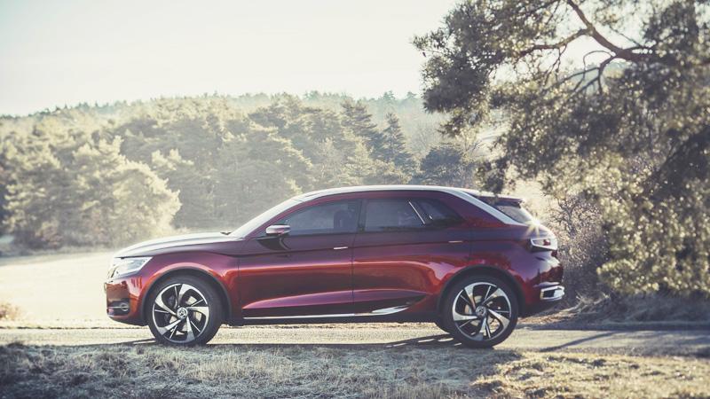 Citroën DS SUV Wild Rubis