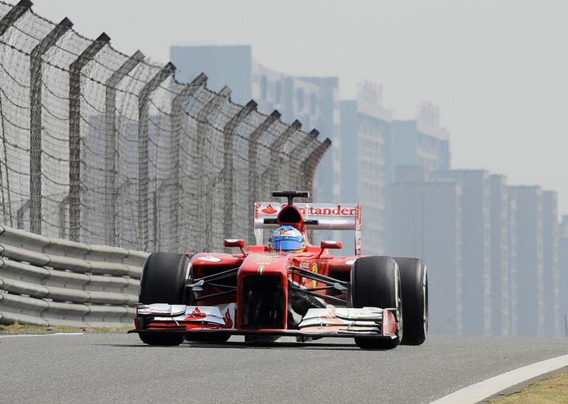 GP China: entrenamientos libres 1 y 2