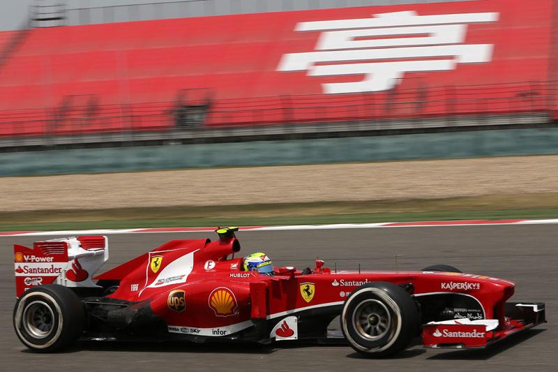 Calificación GP China 2013