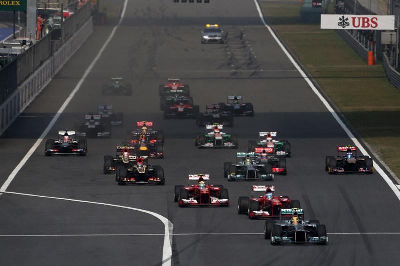 Carrera perfecta de Alonso en China
