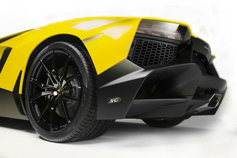 Lamborghini Aventador LP720-4 50 Anniversario Edition