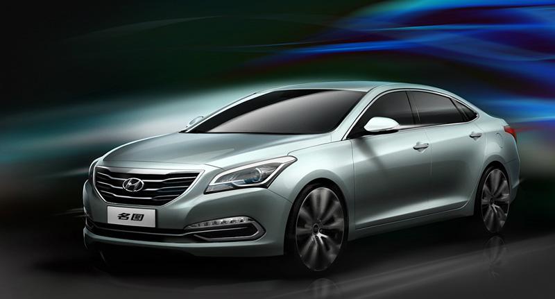 Hyundai Mistra Concept, por debajo del Sonata