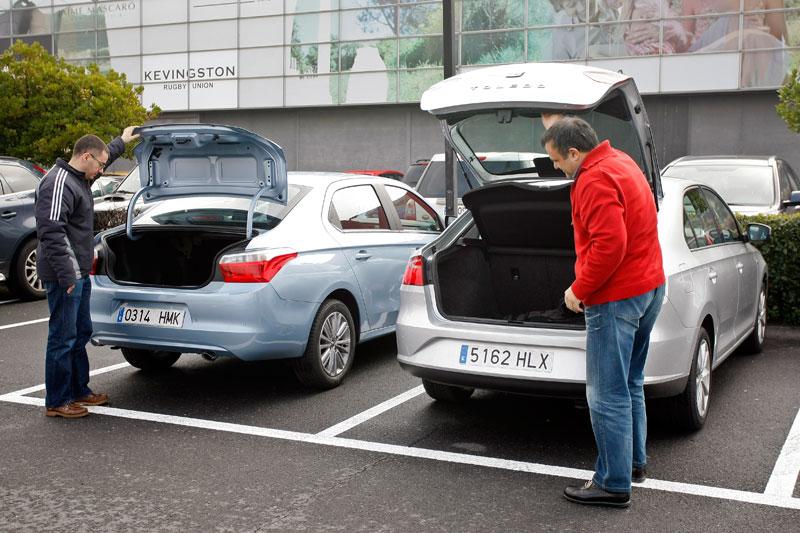 Comparativa: Seat Toledo 1.6 TDI 105 vs Citroën C-Elysée 1.6 HDI 92
