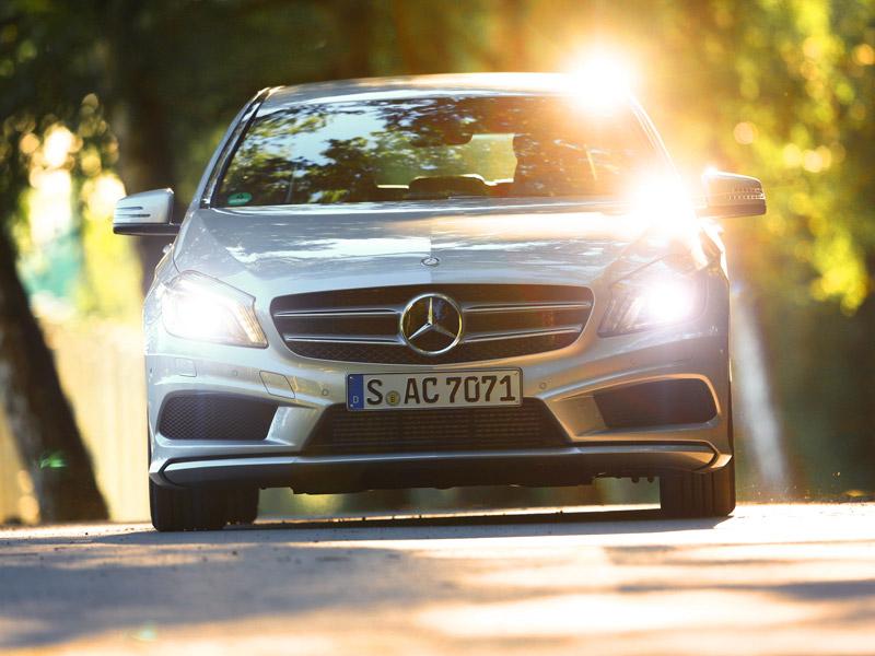Mercedes Clase A 250 7G-DCT, a prueba