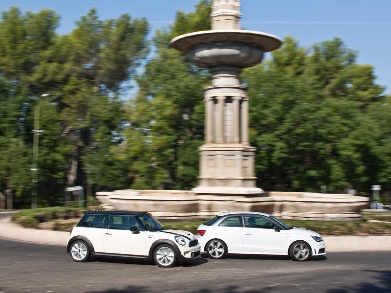 Audi A1 2.0 TDi vs Mini Cooper SD