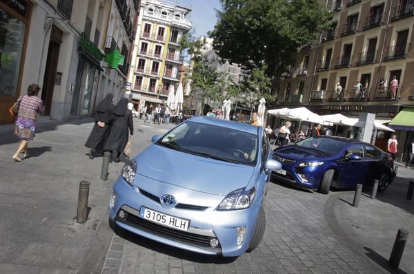 Comparativa: Opel Ampera vs Toyota Prius Plug-in