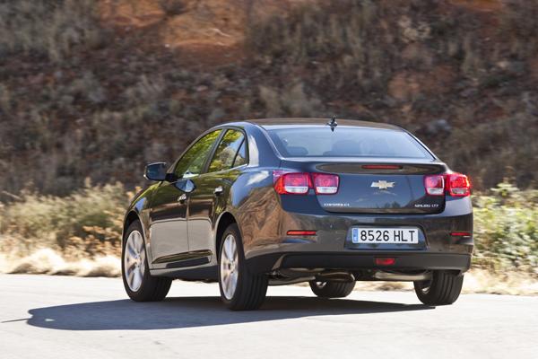 Prueba: Chevrolet Malibu 2.0 D, ¿icono americano?