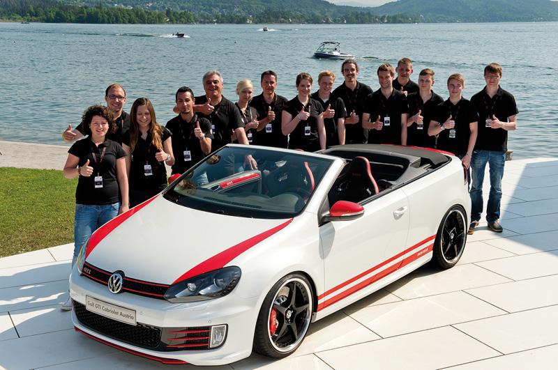 Volkswagen Golf GTI Cabrio Austria Wórthersee 2013