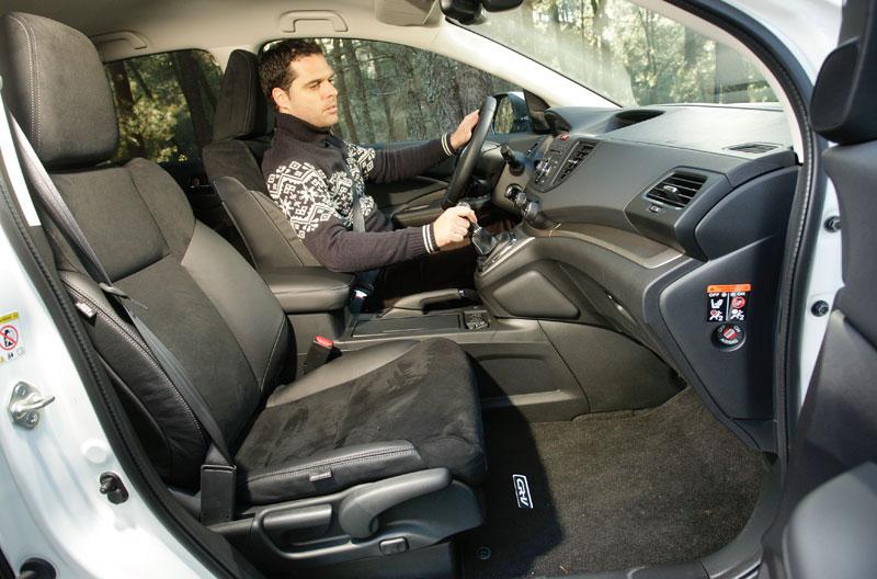 Prueba: Honda CR-V 2.2 i-DTEC 4x4, hoja de estilo