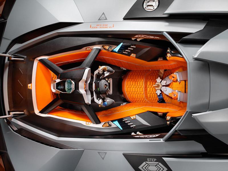 Lamborghini Egoista, regalo de 50 aniversario