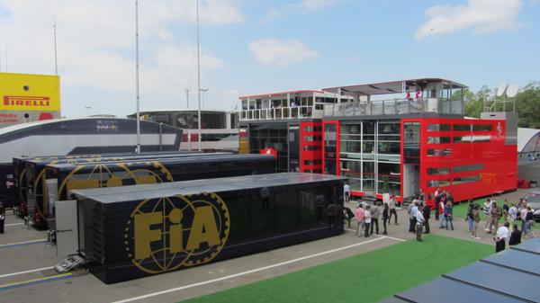 Las fotos más curiosas del GP de España
