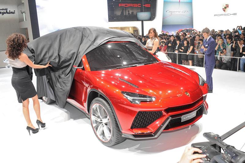 El Lamborghini Urus llegará en 2017