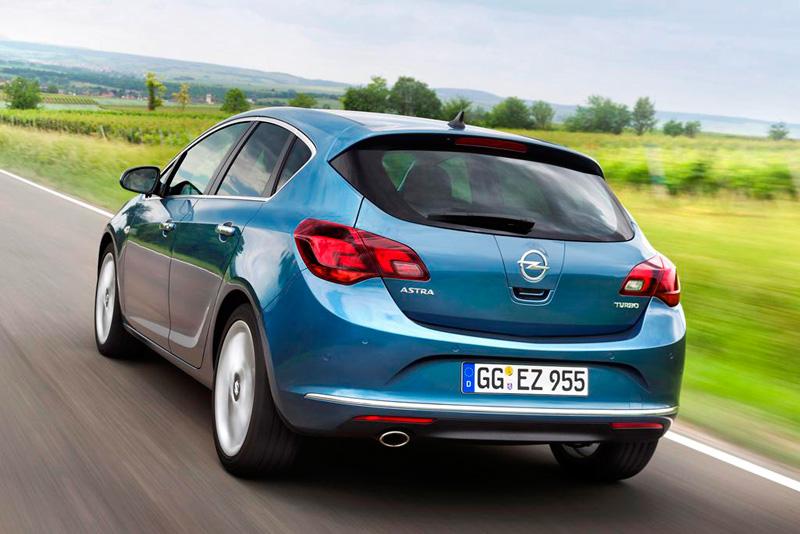 Opel Astra 1.6 SIDI Turbo, más eficiencia