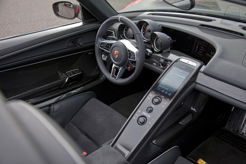 Porsche 918 Spyder, híbrido brutal de 887 CV